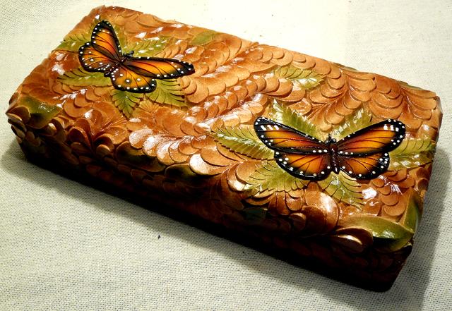 Свадебная шкатулка с бабочками B8c3c9069987