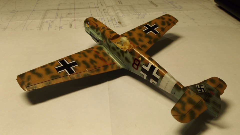 Bf 109 E7/Trop Tamiya 1:48 1da6f5cbc3ca