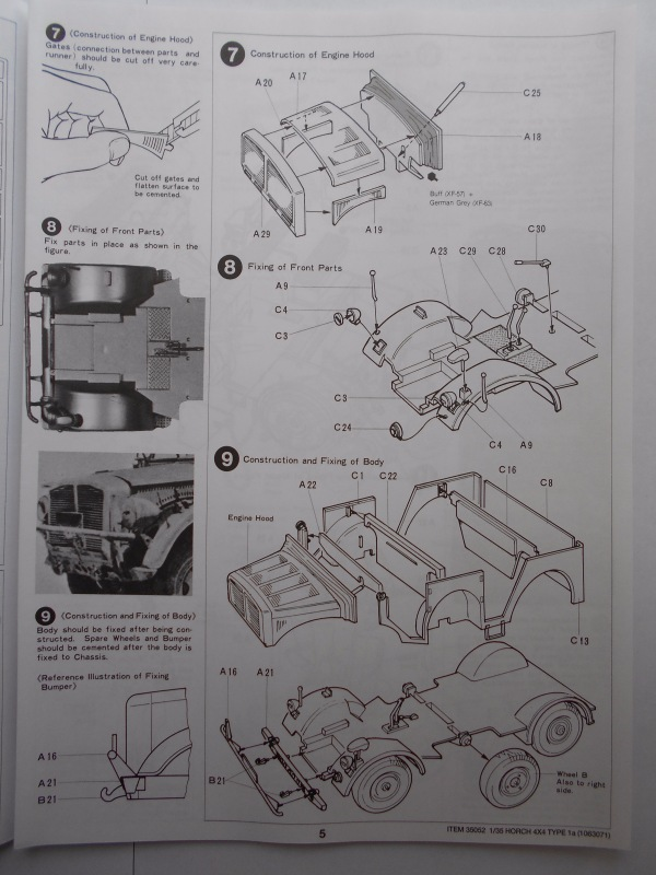 Обзор Horch Type 1A 1/35 (Tamiya №35052) 75c5e0a78d3d