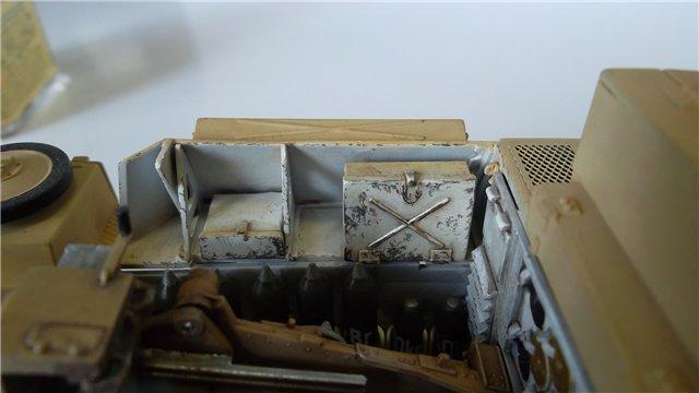 15 cm sIG auf Fahrgestell Pz II или Sturmpanzer II, 1/35, (ARK 35012) 3e4594457ab7