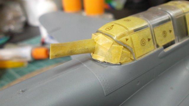Ил-2, масштаб 1/48, (Tamiya 61113). Fc1791c393fe