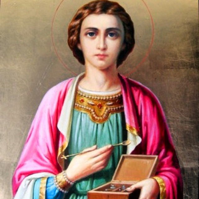Великомученик целитель Пантелеймон. 043ef8d4635a
