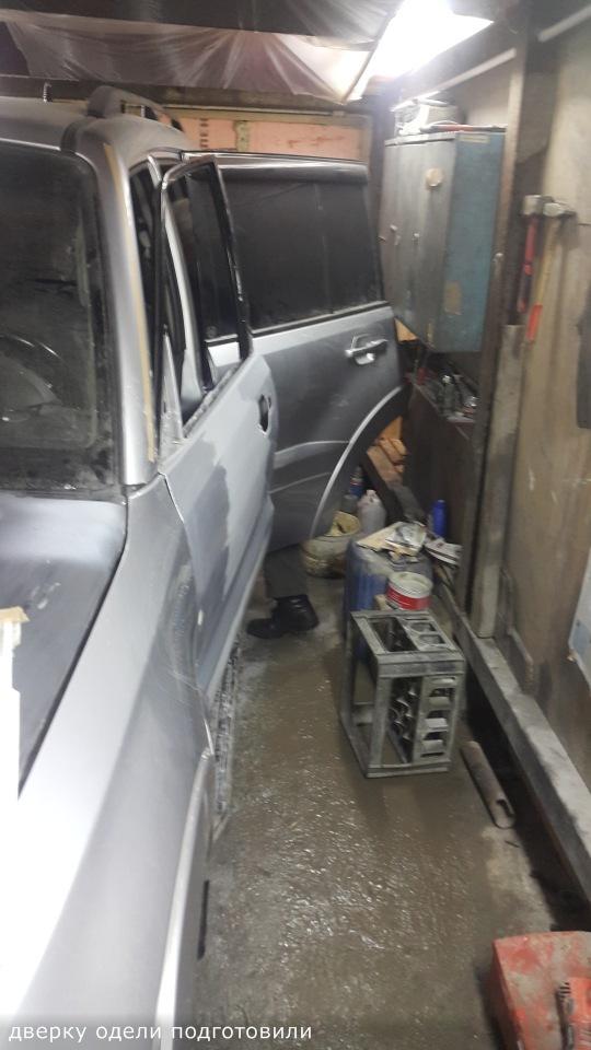Ремонт Pajero 4 2012 рестайлинг после ДТП 1f4388e7a877