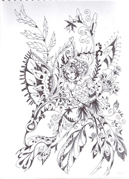 Рисунки ручкой Bda71c8336a8t