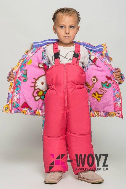 Зимний комбез X-Woyz на тинсулейте для девочки, 110 р. по цене опта 612903c279a9