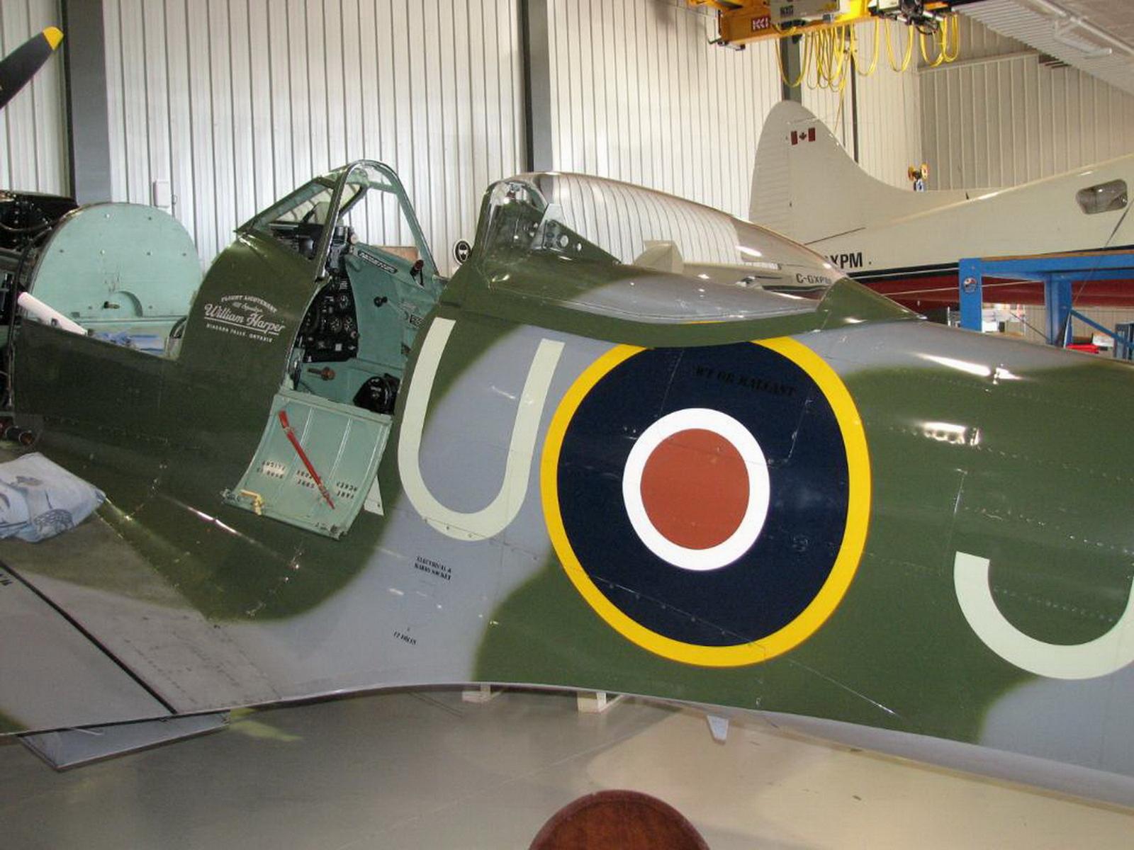ВАЛК! Supermarine Spitfire Mk XVIe 2df1d7212341