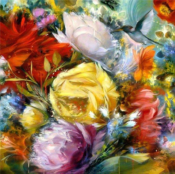 Цветотерапия в живописи... 0eee549654af