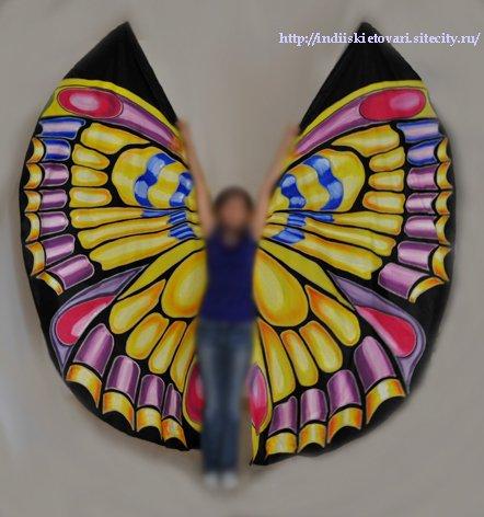 Крылья  для танца живота. B81387ac0ede