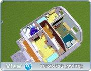 Проект часного дома с мансардой  6df417e78d11