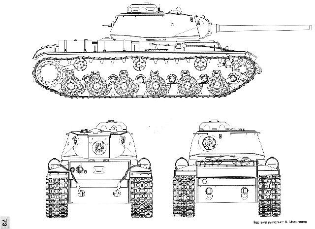 КВ-85, 1/35, (Восточный Экспресс 35102). 6825927f6a93