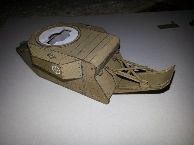Т-18 (МС-1) Бумажное моделирование №45 9b26aa4abac6