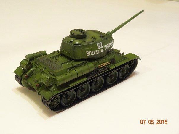 Т-34-85 Звезда 1/35 Bfe548f7fa22