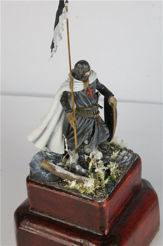 Рыцарь тамплиер 12 век 54мм ПРАПОР A52ef9362abf