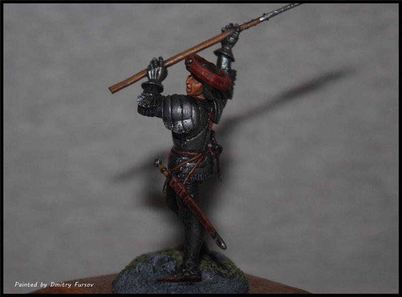 Европейский пехотинец 14-15 века. Автор: Дмитрий Фурсов, г. Тамбов. 06802651058f