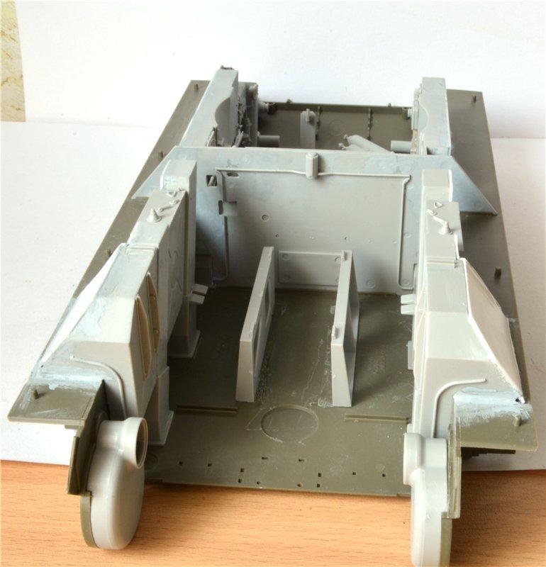 Т-34/85 model 1944г. Factory №. 174 маштаб 1/16 Trumpeter Aa102df3d3db