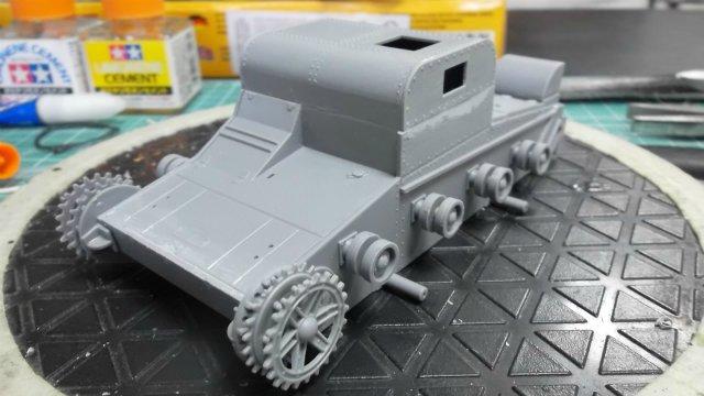 Т-26Т артиллерийский тягач, 1/35, (RPM 35072). 0be6335d3e3a
