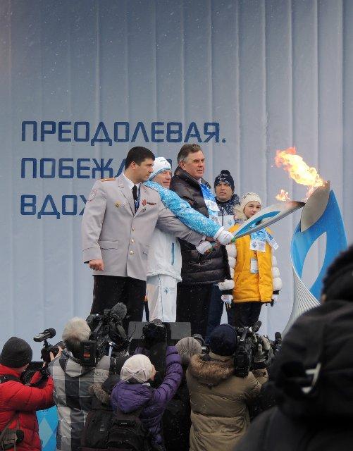 "Эстафета Паралимпийского огня ""Сочи 2014"" в г. Ярославле 786147c68e10"
