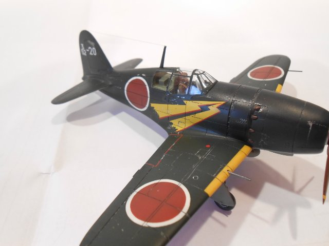 Mitsubishi J2M3 Raiden 1/72 Hasegawa - Страница 3 9fd2236912a2