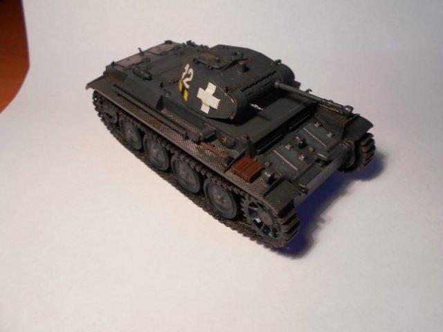 Pz.Kpfw.II Ausf.D 1/35 (Арк Модел) 24484f7072d1