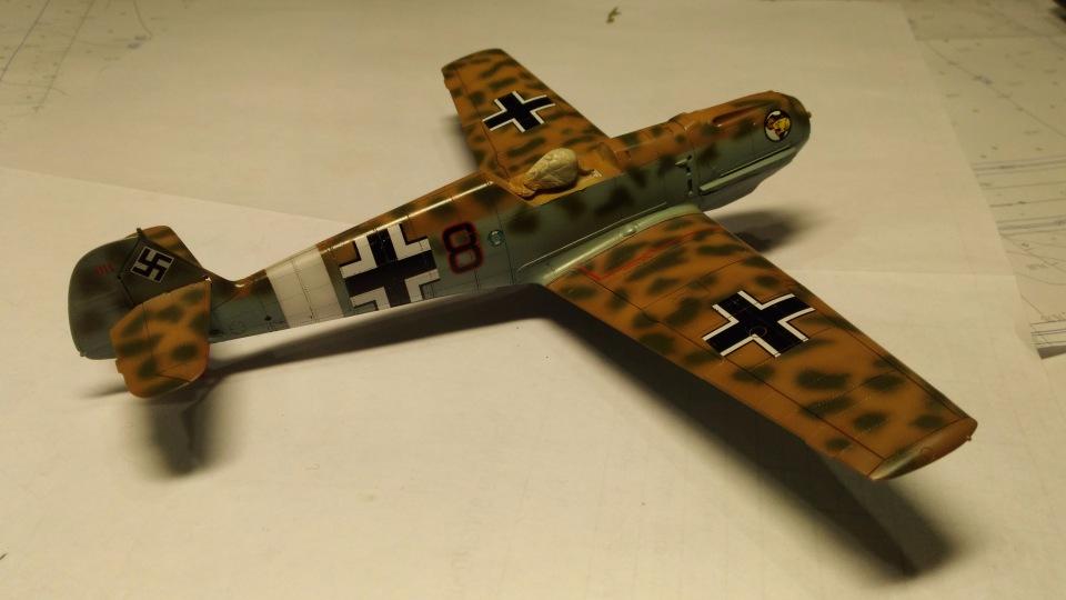 Bf 109 E7/Trop Tamiya 1:48 D6d387814282