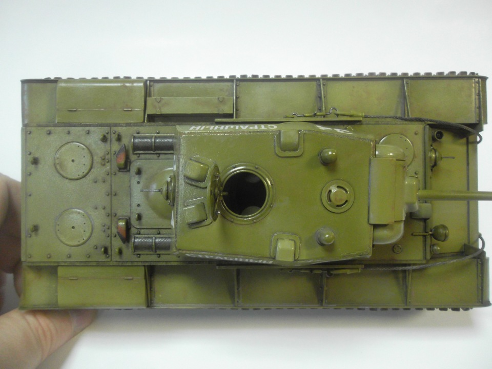 КВ-1 начало 1942 г., 1/35, (ВЭ №35088 + №35084). D294fe76f051