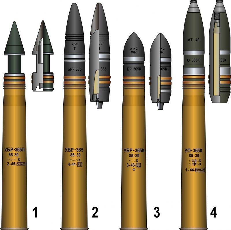 Снаряд О-365 (О-365К) от унитарного выстрела УО-365К (корпус) 4c58d7efaa2b