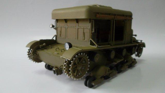 Тягач Т-26 / трофейный польский С7Р, 1/35, (Mirage hobby 35903). Eabb16b23f45
