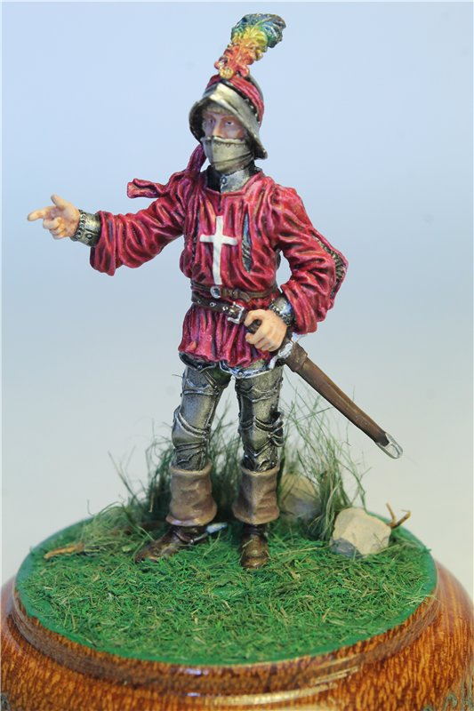 Офицер швейцарской пехоты, 1450-85 гг. F87b9129cd2b