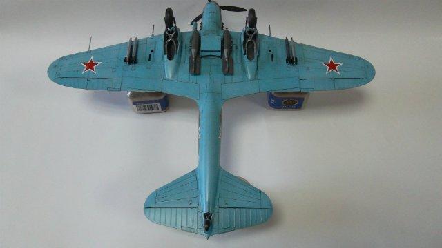 Ил-2, масштаб 1/48, (Tamiya 61113). C02afa7f6003