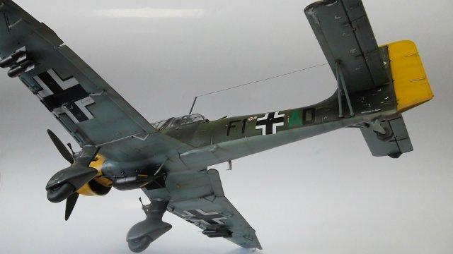 Ju-87 B-2 «Stuka», 1/48, (Tamiya 37008). C6af40241542