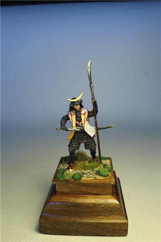 Самурай Датэ Масамунэ живший в 1566 – 1636 годах, 54мм. Bea9c98c2b3f