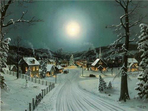 Магия ночи в живописи 7594156d3ed5