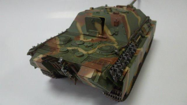 Jagdpanther, 1/35, («Tamiya» 35203). 8f28463c1462