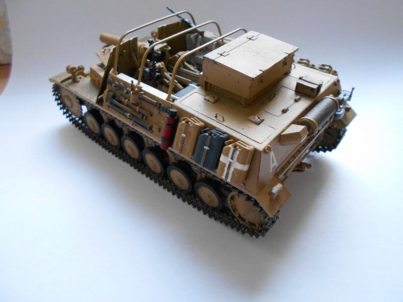 Немецкое 150-мм самоходное орудие Штурмпанцер II 1/35 (Арк модел) 97a88154e912