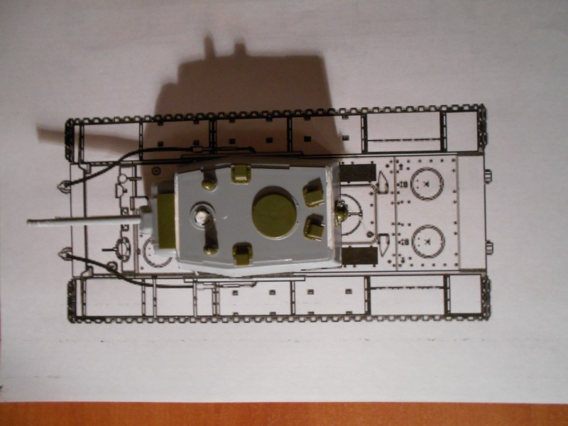 КВ-1 Беспощадный (Звезда+Арк-модел) D3933ced05aa