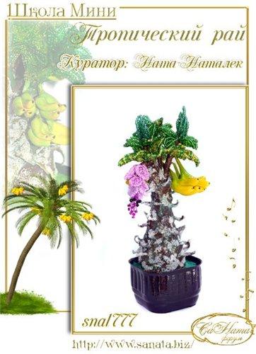Выпуск работ Школы мини - Тропический рай 718796f2c76et