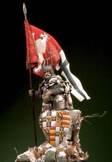 Великий Магистр Тевтонского ордена, 14в.. На Конкурс по росписи миниатюры. E948ff5c3ba6