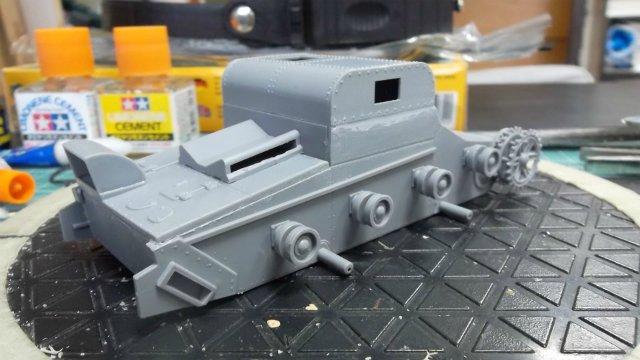 Т-26Т артиллерийский тягач, 1/35, (RPM 35072). 27f0f4ed5d68