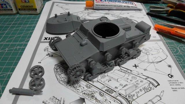 Т-26 обр. 1939 г. 1/35, (Mirage hobby 35309). 649966646580