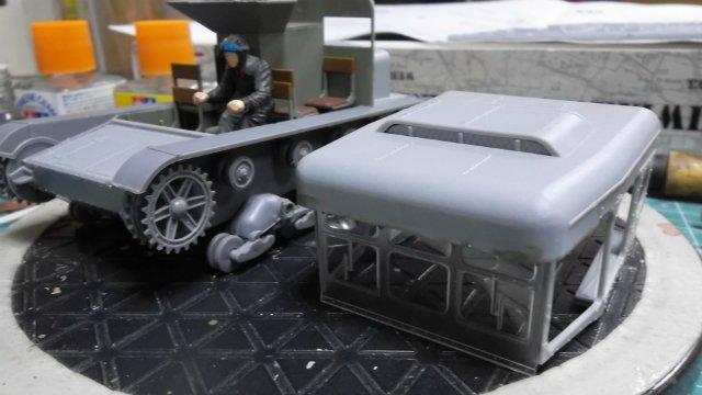 Тягач Т-26 / трофейный польский С7Р, 1/35, (Mirage hobby 35903). Be973fc7ec7c