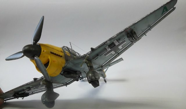 Ju-87 B-2 «Stuka», 1/48, (Tamiya 37008). 66f05d3ce4ca
