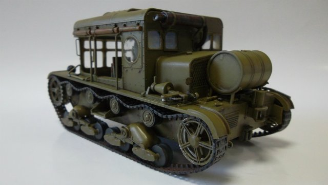 Тягач Т-26 / трофейный польский С7Р, 1/35, (Mirage hobby 35903). A18bbcce49ef