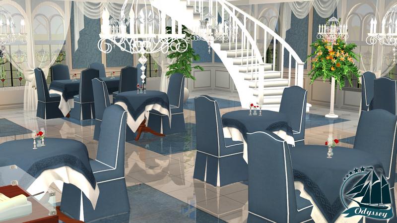 Этаж 1 (основной) - Синий зал B4b2bd43b905