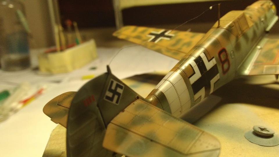 Bf 109 E7/Trop Tamiya 1:48 Ab0e43ce11df
