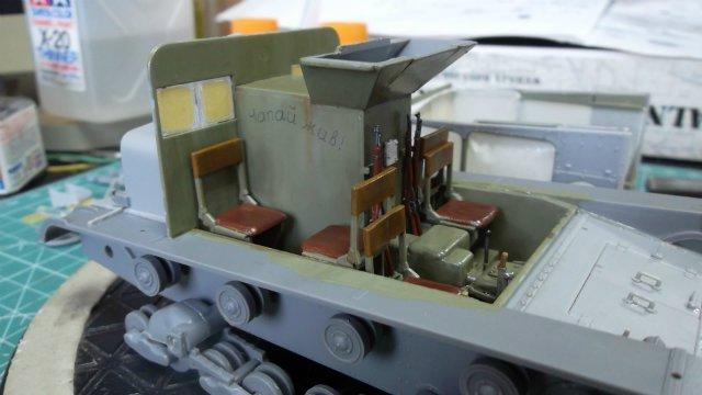 Тягач Т-26 / трофейный польский С7Р, 1/35, (Mirage hobby 35903). 9d709187ed1c