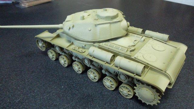 КВ-85, 1/35, (Восточный Экспресс 35102). 55d799faaabd