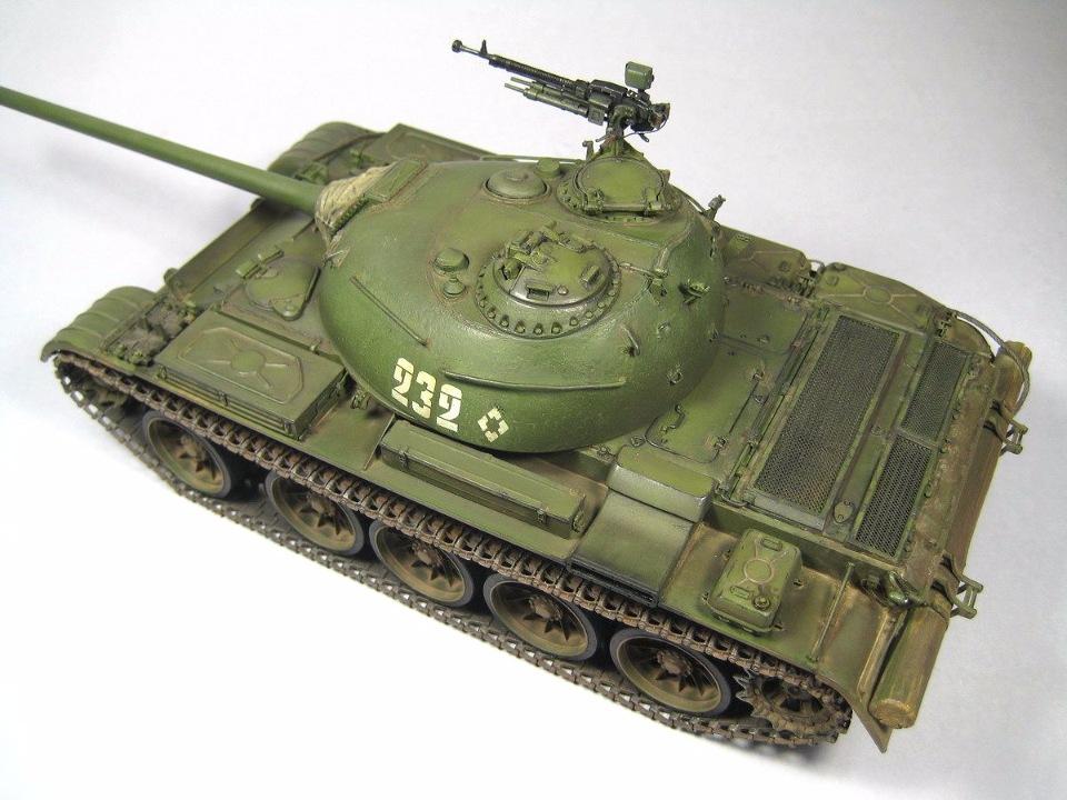 Т-54 образца 1951 г.  5db166ad424c