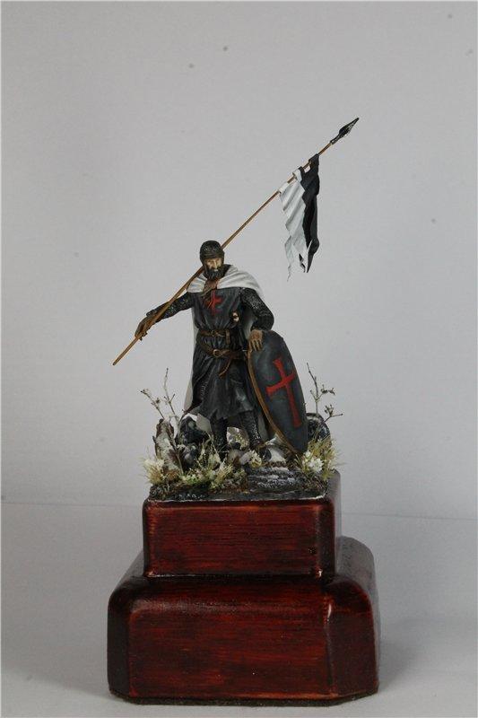 Рыцарь тамплиер 12 век 54мм ПРАПОР 215ac8724b99