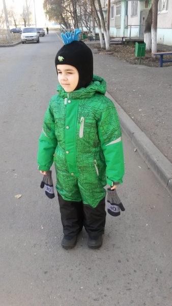 Зимний мембранный комбинезон Олдос, новый для мальчика р 92 615c6b5ae68a