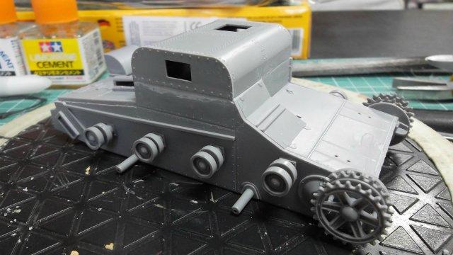 Т-26Т артиллерийский тягач, 1/35, (RPM 35072). 0dbe1d0f6ad9